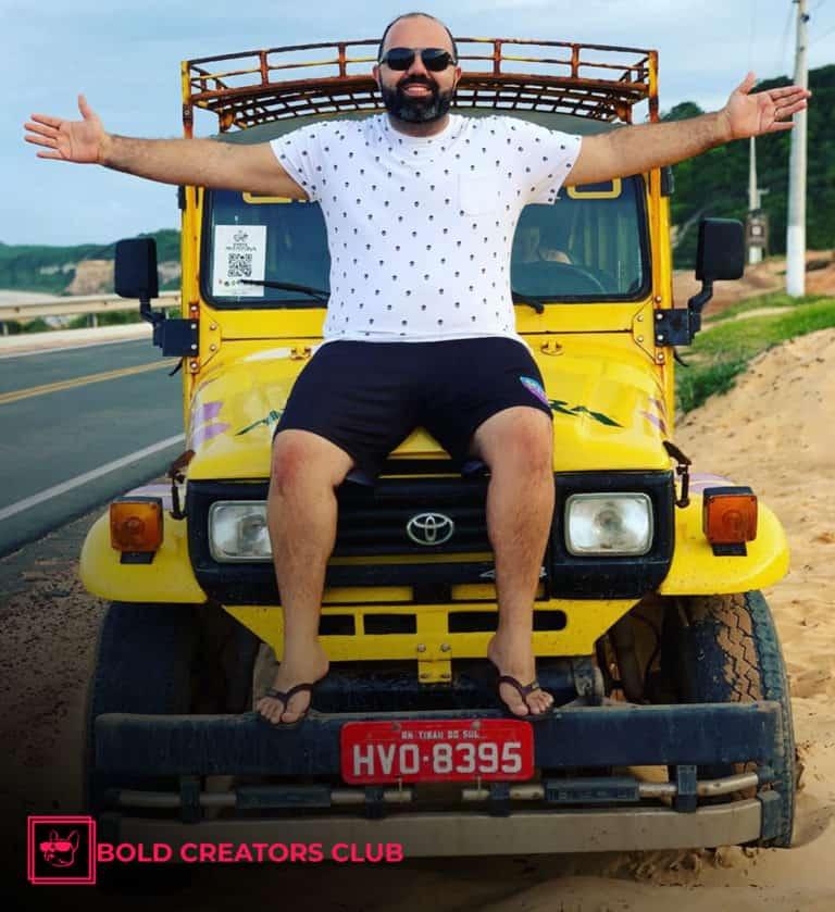 Edu Os Primitivos Bold Creators Club Influencer Marketing Agency South America Brazil