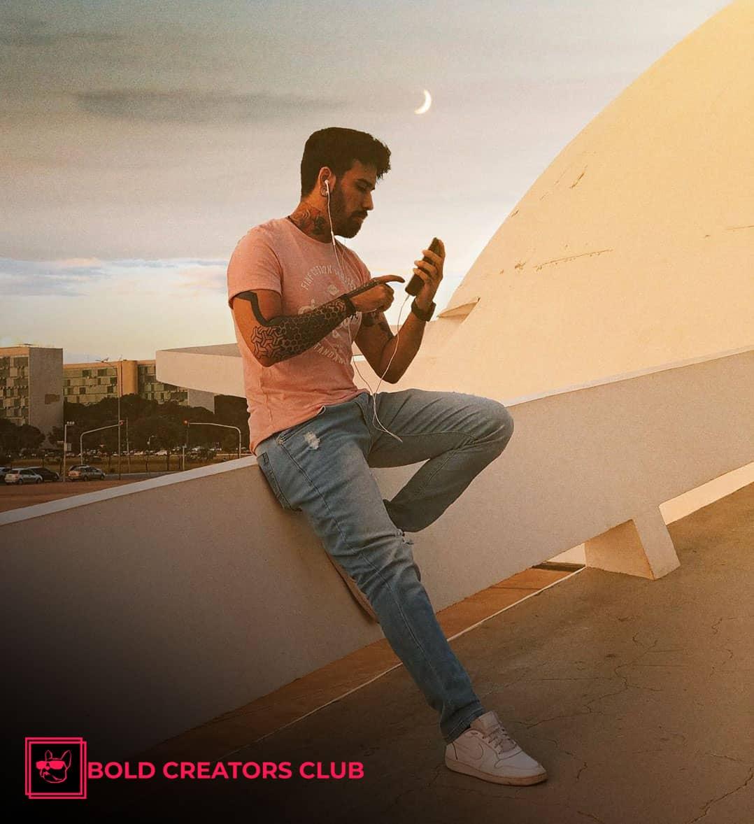 Raphael Salles Bold Creators Club Influencer Marketing Agency South America Brazil