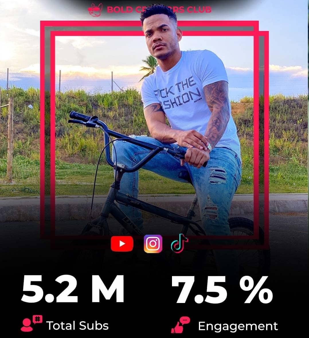 El influyente jugador brasileño Leozito Rocha Instagram